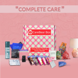 CareBear Complete Period kit with Pads Main Image