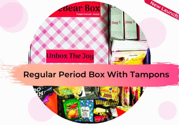 CareBear Regular Period Box with Tampons Image 2