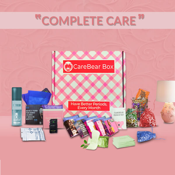 CareBear Complete Period kit with organic Pads Main Image
