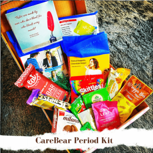 CareBear Period Kit With Organic Pads Jan 2020 Main