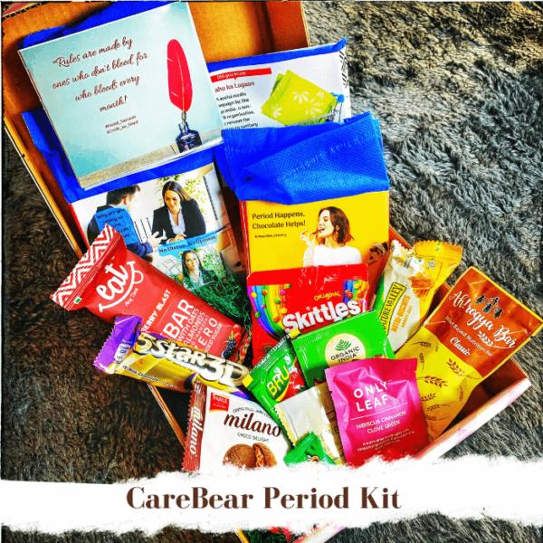 CareBear Period Kit With Organic Pads Jan 2020 Main