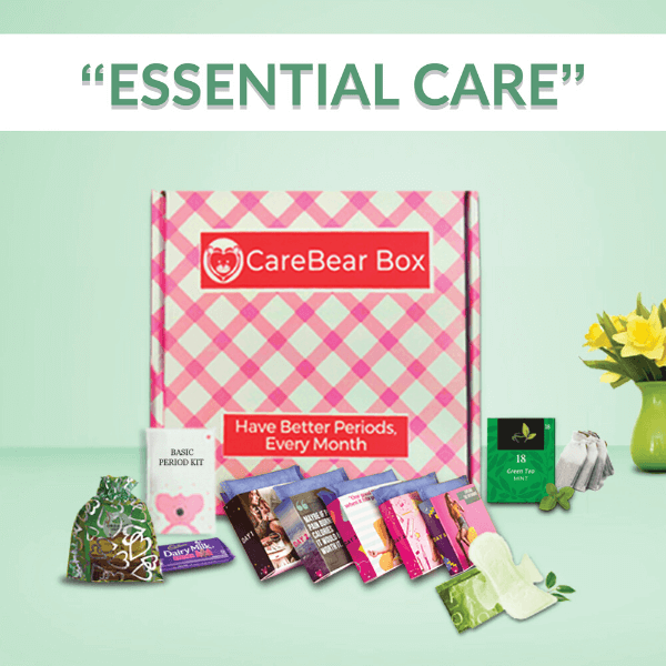 CareBear Basic Period kit with Organic Pads Main Image