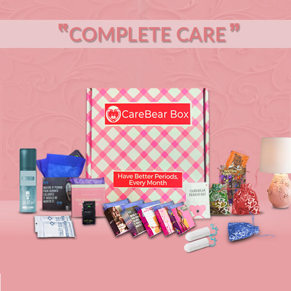 CareBear Complete Period kit with Tampons Main Image