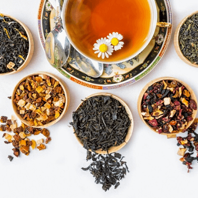 herbal teas for period bloating